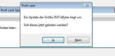 Proficash_Update_Vorgang_Infodatei_Frage_und_groesse