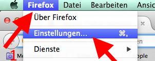 Mac Mozilla Firefox Chronik loeschen
