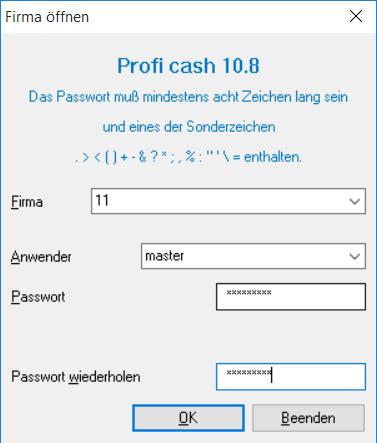 Profi_cash_Firmenwechsel_06_Menue_Firma_anmelden
