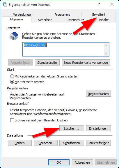Internetoptionen_Browserverlauf_u_Erweitert