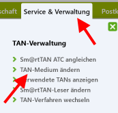 Browser_Banking_optische_TAN_Probleme_TAN-Medium_aendern