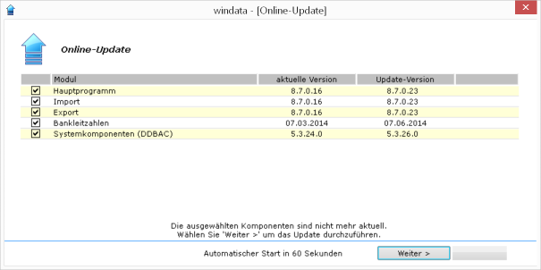 menue_windata_versionsangabe_Updateversionen