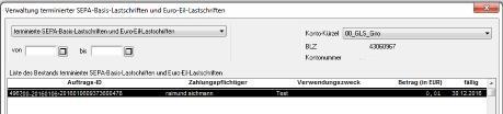 Lastschriftbestand_Proficash_05_Ergebnis